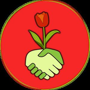 logo de l'association natura-lien, promouvant la permaculture à béziers
