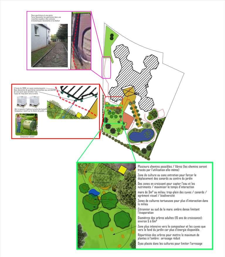 jardin petits fruits ehpad maison de retraite meridienne beziers herault occitanie